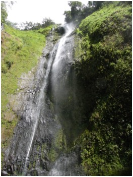 San Ramon waterfall on Ometepe Island