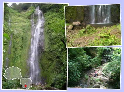Waterfall, San Ramon, Ometepe